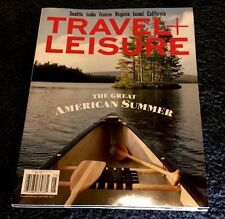Travel And Leisure Magazine Great American Summer May 2017