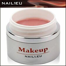 "PROFESSIONALE CORRETTORE GEL di costruzione / NUDE "" nail1eu MAKE UP "" 30 ml /"