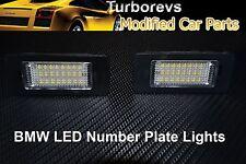 BMW X5 E60 luminosa a LED XENON Posteriore Numero Targa Luce l'alloggiamento del modulo BIANCO 6000K