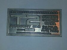 Timeless Collectibles Terminator T2 Endo-Skull Plaque ORIGINAL Prop Replica