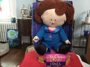 """VINTAGE NIP Rosie O Donnell 1997 Talking Celebrity Plush Doll By Tyco 18"""""""
