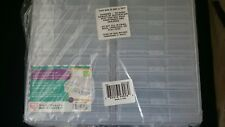 """Extra Large Photo Craft Keeper 16 Storage Case Plastic Clear Durable 4""""X 6"""""""