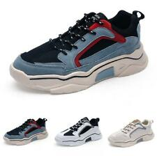 Men Shoes Fashion Sneakers Sports Outdoor Running Lace up Trainer Breathable D