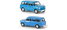 BREKINA HO scale ~ 'AUSTIN COUNTRYMAN' in BLUE ~ FULLY ASSEMBLED model #15301
