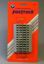 LIONEL FASTRACK TRANSITION O GAUGE TRACK ADAPTER train fast to 3 rail 6-12040