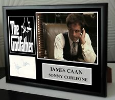 THE GODFATHER SIGNED JAMES CAAN TRIBUTE
