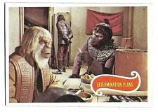 PLANET OF THE APES MOVIE CARD NO 14 EXTERMINATION PLANS TOPPS NRMINT+ 5072