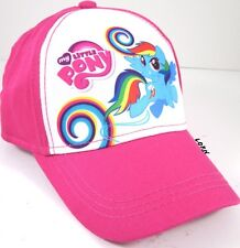 NEW Girl's My Little Pony RAINBOW DASH Snap Back Hat Baseball Cap Cute Pink Gift
