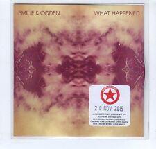 (GP80) What Happened, Emilie & Ogden - 2015 DJ CD