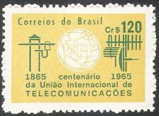 Brazil 1965 ITU-UIT/Radio Aerial/Telegraph/Communications/Telecomms 1v (n26711)