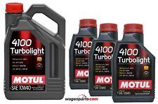 Aceite Motor Motul 4100 Turbolight 10W40, 8 litros