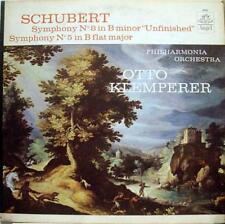 KLEMPERER schubert symphony no 8 & 5 LP Mint- 36164 Vinyl  Record