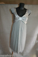ROBE SCHUMACHER  VISCOSE SOIE T 1 S/36/38 DRESSES/ABITO/VESTIDO/KLEID STRECH TBE