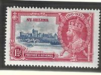St. Helena Stamp Scott #111, Used Lightly Hinged