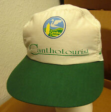 CANTHO TOURIST baseball hat Vietmam crane logo Indochina vtg cap 1980s Hanh Phuc