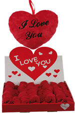 I LOVE YOU PELUCHE CUORE SAN VALENTINO OCCASIONE romantica storia d'amore regalo Stocking Filler