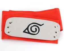 Dz776 On Sale Naruto Ninja Headband Head Band bandana Cosplay Hatake Kakashi Red