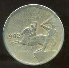 COLOMBIE 10  pesos  1982