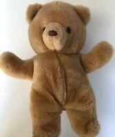 "RUSS Berrie Vintage HONEY Teddy Bear 592 Plush Stuffed Animal Light Brown 14"""