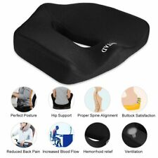 OUTAD Slow Rebound Buttocks Seat Cushion Back Pain Relief Chair Car BP