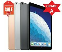 Apple iPad Air 3rd Wi-Fi + Unlocked, 10.5in - 64GB 256GB - Gray Silver Gold (A)