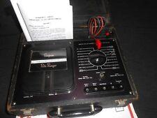 VINTAGE SIMPSON ROTO RANGER  Model 221 VOLT - OHM  MILLIAMMETER Tester
