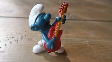 Vintage Smurf Figure - Guitar - 1977