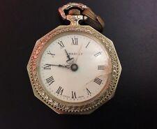 Vintage Bradley Pocket Watch Windup Movement Deco Timepiece Swiss Parts