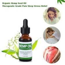 US 5000mg Hemp Oil For Pain Relief Anxiety Sleep Anti Inflammatory Extract Drops