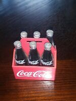 Coca-Cola Bottle Six Pack In Carrier Plastic Magnet Coke