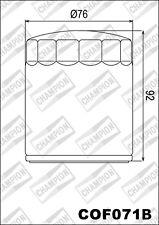 COF071B Filtro De Aceite CHAMPION Buell1200 Lightning S1,X112002002