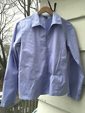 Eileen Fisher ~ Pale Blue ~ Jacket  ~ Cotton Blend ~ Large ~ Useful