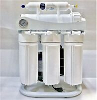 Light Commercial Reverse Osmosis Water Filter - Booster Pump - 400 GPD