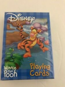Bicycle Playing Cards Disney Winnie the Pooh. Sealed New Old Stock Poker Size US