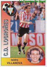 167 VILLANOVA ESPANA CD.LOGRONES STICKER CROMO LIGA 1995 PANINI