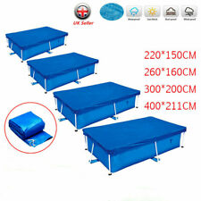 More details for swimming pool cover for rectangle outdoor garden paddling family frame pools uk