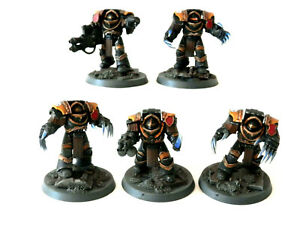 A9 WARHAMMER 30/40K SPACE MARINES -IMPERIAL FISTS CATAPHRACTII TERMINATORS