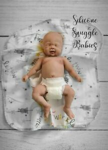"8"" Micro Preemie Full Body Silicone Baby Boy Doll Cooper"