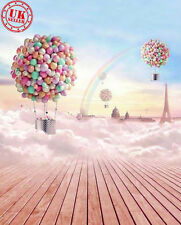 DREAM CANDY SKY Carta da Parati Sfondo Sfondo Vinile Photo Prop 5x7ft 150x220cm