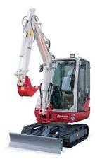 TAKEUCHI  TB230  Compact Excavator  Service & Parts Manual CD