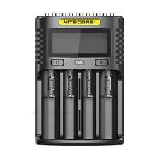 Nitecore UM4 USB Quadro Slot Battery Charger for AA, AAA, AAAA, 18650, 26500