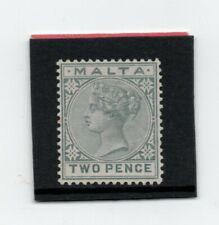 Malta Vic. 1885-90 2d grey sg 23 H.Mint
