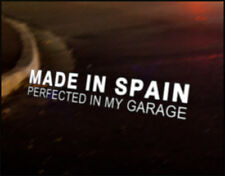 MADE IN SPAIN JDM Decal vinyl sticker, SEAT Cupra R Ibiza Leon SC Altea Exeo