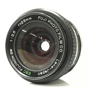 Fuji EBC Fujinon SW 28mm F3.5 M42 MF Lens from Japan - Very Good [TK]