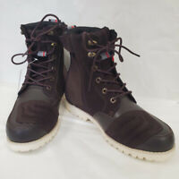 Sidi Arcadia Tex Touring Motorcycle Boots Brown Size 10.5 US / 45 EU *BLEMISHED*