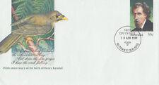 (13970) Australia Postal Stationery FDC Henry Kendall 18 April 1989