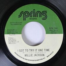 Soul 45 Millie Jackson - I Got To Try It One Time / Get Your Love Right On Sprin