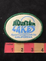 Vintage MOUNTAIN LAKES RESORT CAMPGROUND California Patch 89NB
