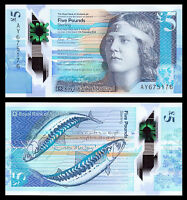 Royal Bank of Scotland 5 Pounds £5, 2016, P-New, Polymer, UNC> New Design