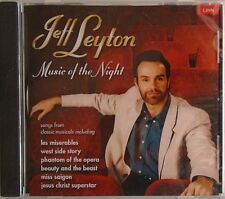 JEFF LEYTON - Music Of The Night - Songs From Classic Musicals - CD - BRAND NEW